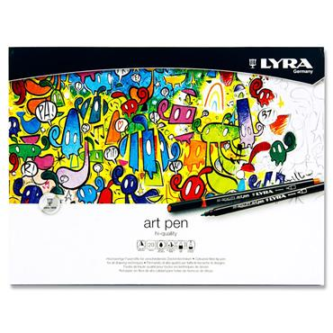 Lyra Tin 20 Hi-quality Art Pens