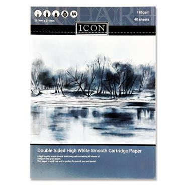 Icon A4 Sketch Book 185gsm 40 Sheets