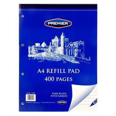 Premier A4 400pg Refill Pad - Top