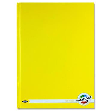 Premto A4 160pg Hardcover Notebook - Sunshine