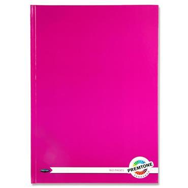 Premtone A4 160pg Hardcover Notebook - Fandango