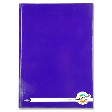 Premtone A4 160pg Hardcover Notebook - Ultra Violet