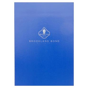 BROOKLAND BOND A5 WRITING PAD 100 SHEETS - WHITE RULED