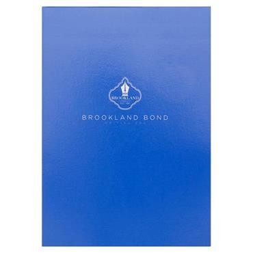 BROOKLAND BOND A5 WRITING PAD 100 SHEETS - WHITE PLAIN