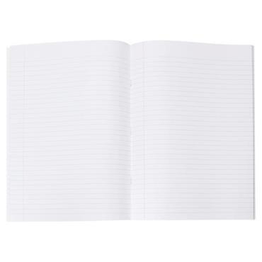 PREMTO A4 120pg MANUSCRIPT BOOK - PRINTER BLUE