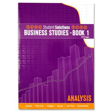 Student Solutions A4 40pg Business Studies - Book 1