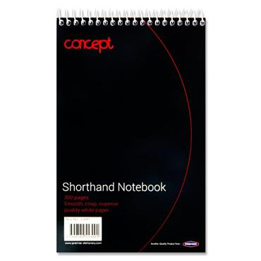 CONCEPT 300pg SHORTHAND NOTEBOOK