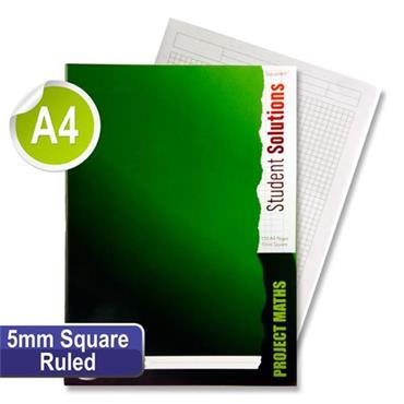 Student Solutions A4 120pg 5mm Sq Project Maths Softback Copy