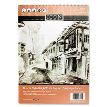 Icon A2 135gsm Wiro Sketch Pad 30 Sheets