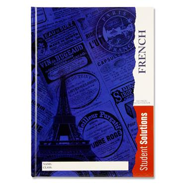 Premier A4 160pg Hardcover Notebook - French
