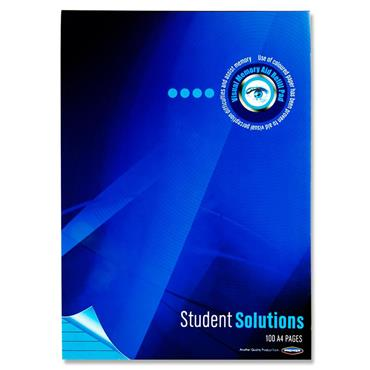 Student Solutions A4 100pg Visual Memory Aid Refill Pad - Turquoise