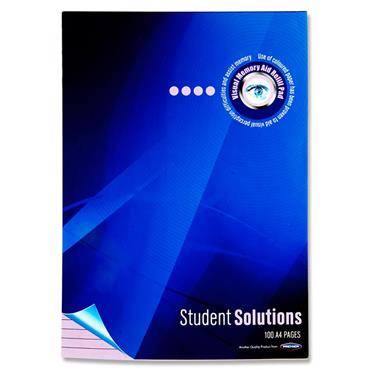 Student Solutions A4 100pg Visual Memory Aid Refill Pad - Lilac