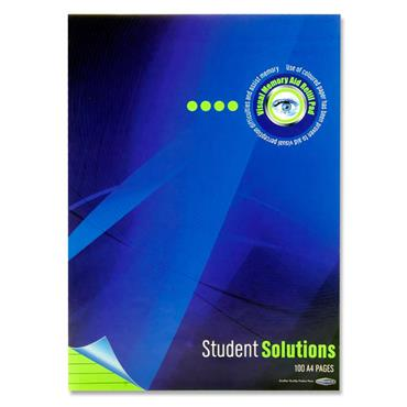 Student Solutions A4 100pg Visual Memory Aid Refill Pad - Parrot