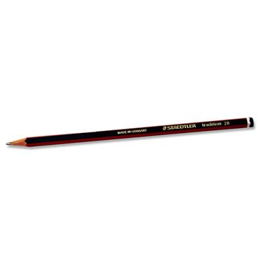 STAEDTLER TRADITIONAL PENCIL - 2B