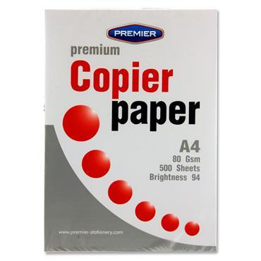 Premier Ream A4 Premium 80gsm Copier Paper