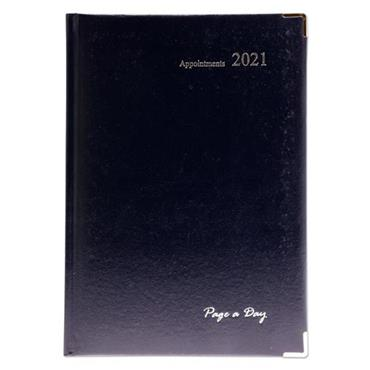 PREMIER 2021 A4 APPOINTMENTS DIARY WITH TIMES - PAGE A DAY 3 ASST