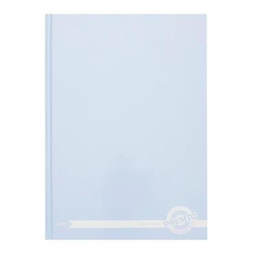 PREMTO PASTEL A4 160pg HARDCOVER NOTEBOOK - CORNFLOWER BLUE
