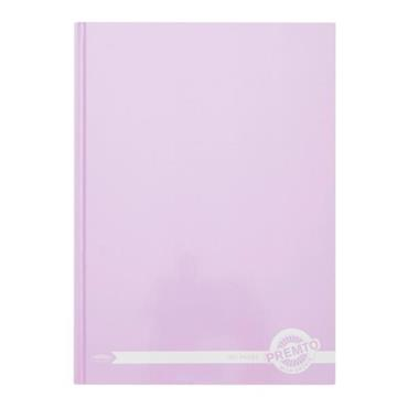 PREMTO PASTEL A4 160pg HARDCOVER NOTEBOOK - WILD ORCHID