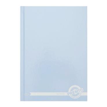PREMTO PASTEL A5 160pg HARDCOVER NOTEBOOK - CORNFLOWER BLUE