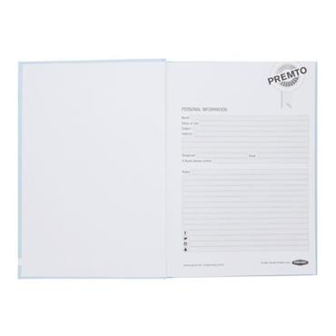 PREMTO PASTEL A5 160pg HARDCOVER NOTEBOOK - CORNFLOWER BLUE