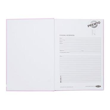 PREMTO PASTEL A5 160pg HARDCOVER NOTEBOOK - WILD ORCHID