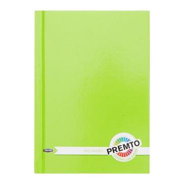 PREMTO A6 160pg HARDCOVER NOTEBOOK - CATERPILLAR GREEN