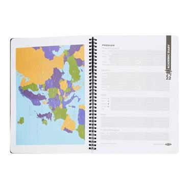 PREMIER A4 ACADEMIC DIARY WEEK TO VIEW 2021-2022 WIRO DURABLE COVER