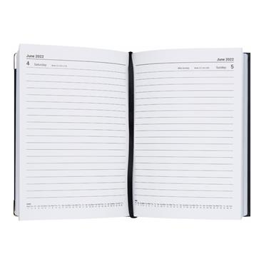 PREMIER 2022 A5 DIARY - PAGE A DAY BOLD 3 ASST