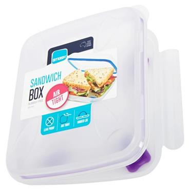 SMASH LEAK PROOF SANDWICH BOX 3 ASST CDU