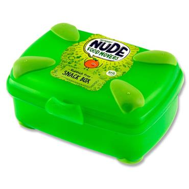 SMASH NUDE FOOD MOVER SNACK BOX BRIGHT - GREEN CDU
