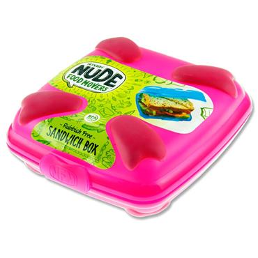 Smash Nfm Sandwich Box Bright - Pink Cdu