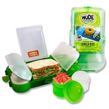 SMASH RUBBISH FREE LUNCHBOX SET BRIGHT - GREEN CDU