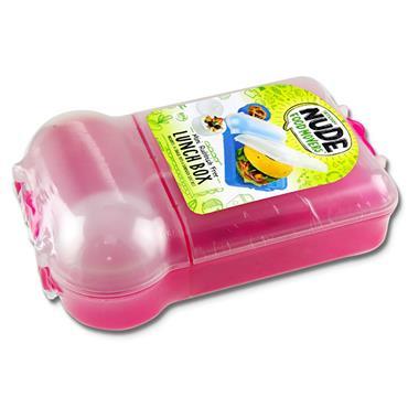 Smash Mini Rubbish Free Lunchbox Set Bright - Pink
