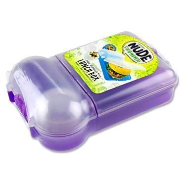 Smash Mini Rubbish Free Lunchbox Set Bright - Purple