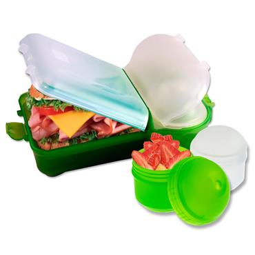 Smash Mini Rubbish Free Lunchbox Set Bright - Green