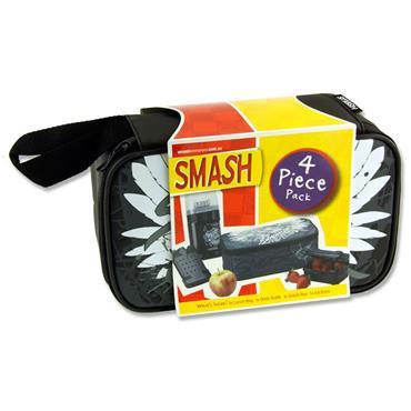 Smash Spitfire 4 Pcs Pack Black