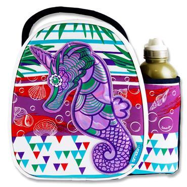 Smash S2 Case & 500ml Bottle - Atlantis Seahorse