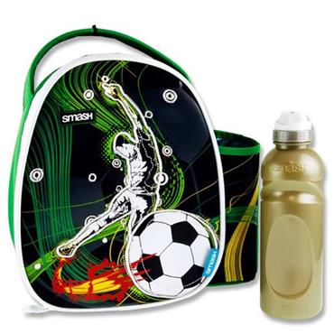Smash S2 Case & 500ml Bottle - Soccer