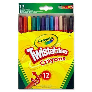 Crayola Pkt.12 Twistables Crayons