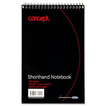 CONCEPT 160pg SHORTHAND NOTEBOOK