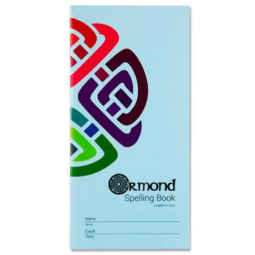 Ormond 48pg 200mm X 100mm Spelling Notebook