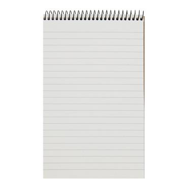 CONCEPT GREEN 200x126mm 160pg SPIRAL SHORTHAND NOTEBOOK RECYCLED PAPER