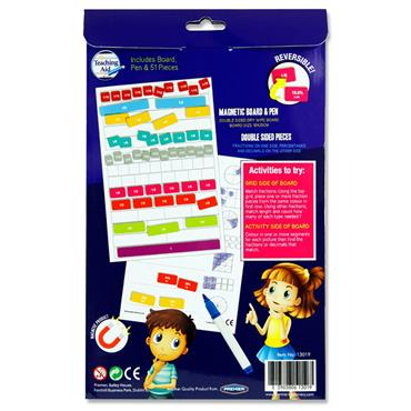Clever Kidz Magnetic Fractions - Percentages And Decimal Set