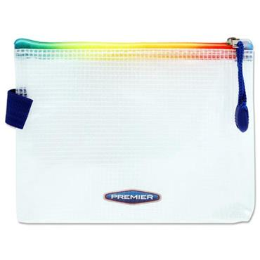 PREMIER OFFICE A6+ EXTRA DURABLE EXPANDING MESH WALLET - RAINBOW