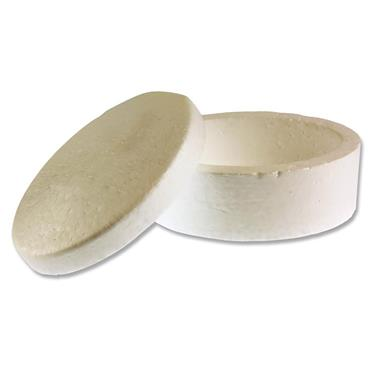 Icon Craft Pkt.3 Styrofoam Boxes 150x75mm - Oval