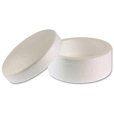 Icon Craft Pkt.3 Styrofoam Boxes 130x80mm - Circle