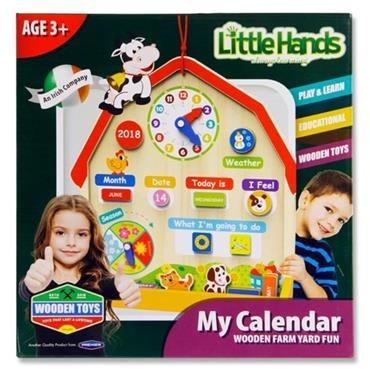 Little Hands Wooden Education Game - My Farm Yard Calendar