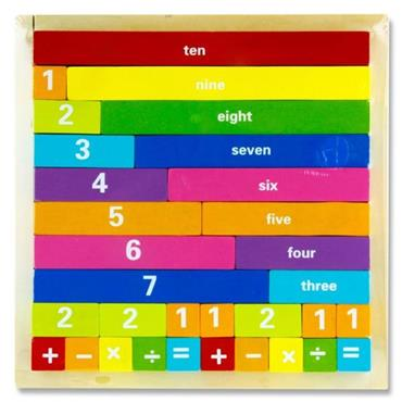Little Hands Wooden Education Game - Number Play