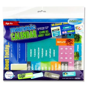 Clever Kidz Magnet Calendar Set