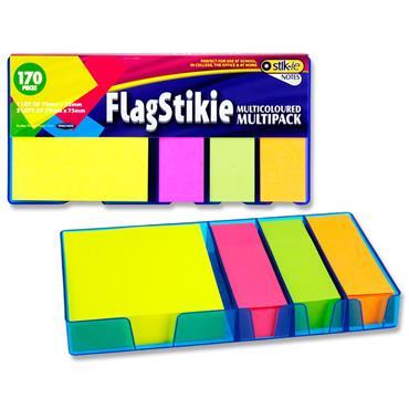 Stik-ie Flag Set 680 Multipack Sticky Notes